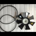 Крыльчатка и ремень вентилятора