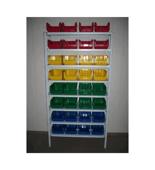 Стеллаж серии СТ с ящиками V-3