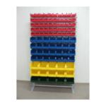 Стойка для пластмассовых ящиков односторонняя 1150 х 2000