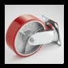 Опора поворотная алюминий-полиуретан 150-50